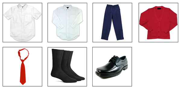 Boys Dress Uniform Preschool & Kindergarten