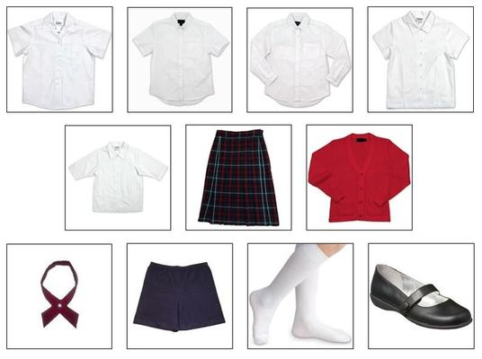 Girls Dress Uniform 5th-8th Grade